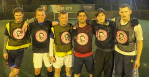 At Bexleyheath Goals, promoting anti-homophobia