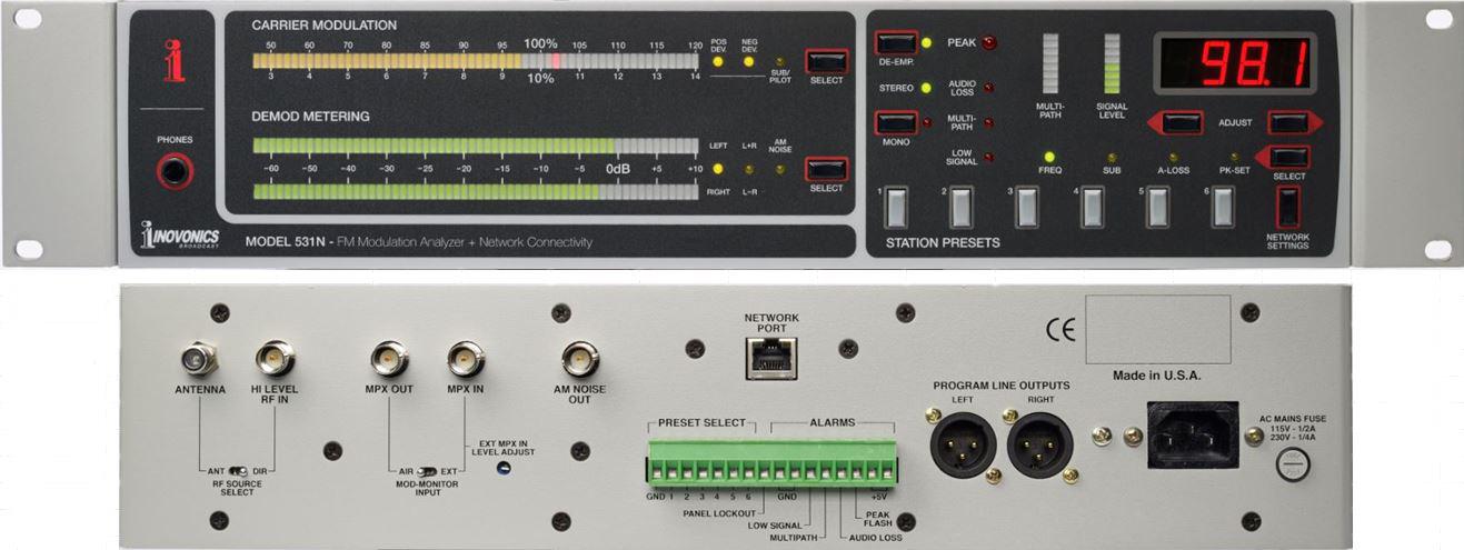 531N FM Modulation Monitor