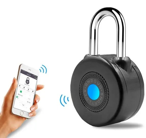 Bluetooth Smart Lock Anti Theft Alarm Lock