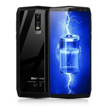 banggood Blackview P10000 Pro MTK6763 Helio P23 2.0GHz 8コア SILVER(シルバー)