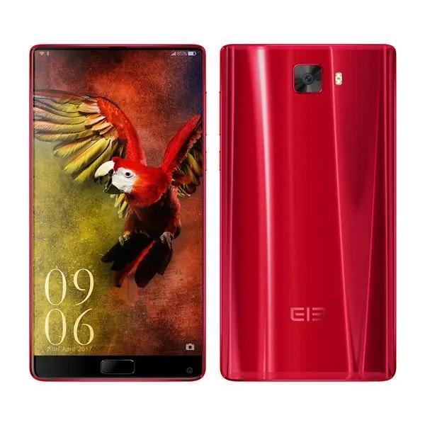 banggood Elephone S8 MTK6797 Helio X25 2.5GHz 10コア RED(レッド)