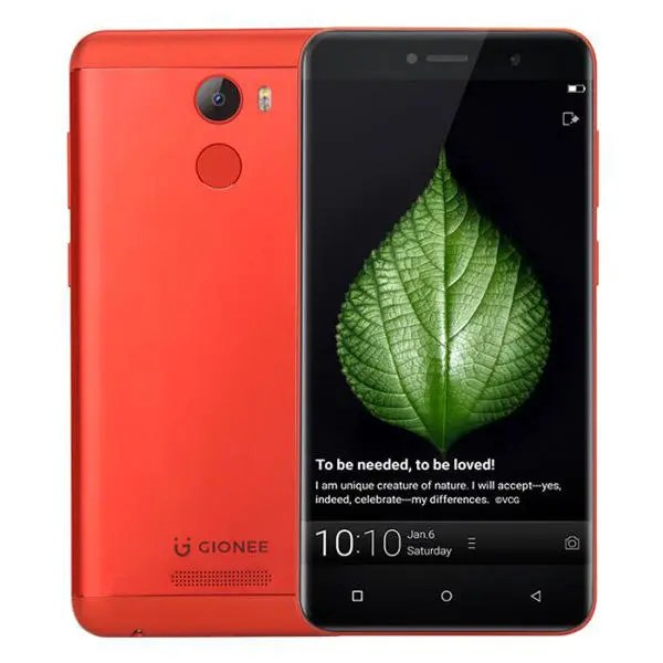 banggood GIONEE A1 Lite MTK6753 1.3GHz 8コア RED(レッド)