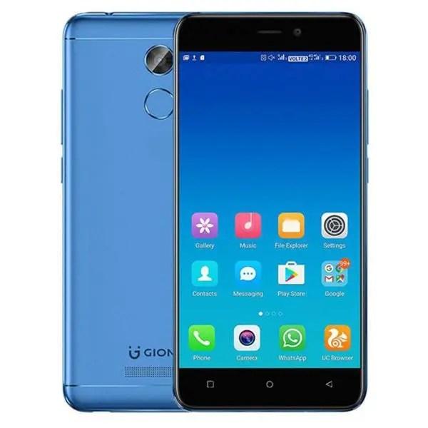 banggood GIONEE X1S MTK6737T 1.5GHz 4コア BLUE(ブルー)