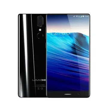 banggood UMIDIGI Crystal MTK6750T 1.5GHz 8コア BLACK(ブラック)