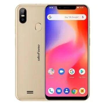 banggood Ulefone S10 Pro MTK6739 1.5GHz 4コア GOLD(ゴールド)