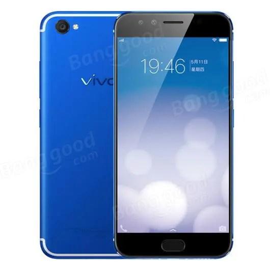 banggood Vivo X9 Snapdragon 625 MSM8953 2.0GHz 8コア BLUE(ブルー)