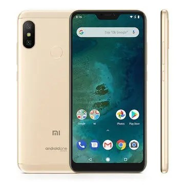 banggood Xiaomi Mi A2 Lite Snapdragon 625 MSM8953 2.0GHz 8コア GOLD(ゴールド)
