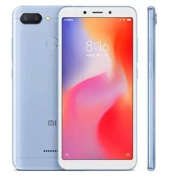 Xiaomi Redmi 6 MTK6762 Helio P20 2.0GHz 8コア