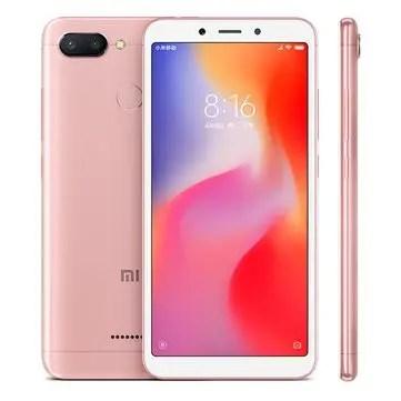 banggood Xiaomi Redmi 6 MTK6762 Helio P20 2.0GHz 8コア PINK(ピンク)
