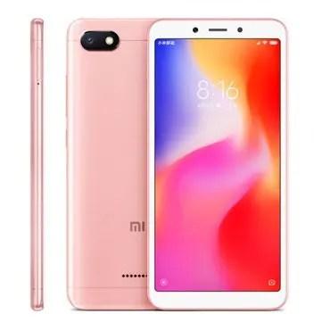 Xiaomi Redmi 6A MTK6765 Helio A22 2.0GHz 4コア