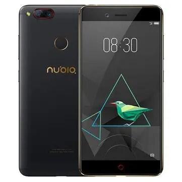 banggood ZTE Nubia Z17 Mini Snapdragon 652 MSM8976 1.8GHz 8コア BLACK(ブラック)