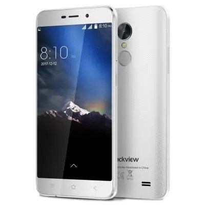 gearbest Blackview A10 3G MTK6580A 1.3GHz 4コア WHITE(ホワイト)