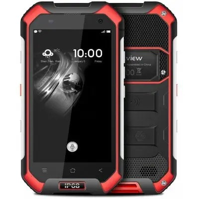 gearbest Blackview BV6000S MTK6735 1.3GHz 4コア RED(レッド)