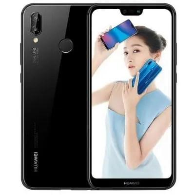 gearbest HUAWEI Nova 3e Kirin 659 2.36GHz 8コア BLACK(ブラック)