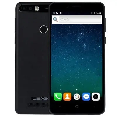 gearbest LEAGOO KIICAA POWER 3G MTK6580A 1.3GHz 4コア BLACK(ブラック)