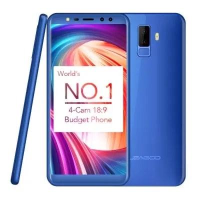 gearbest LEAGOO M9 3G MTK6580A 1.3GHz 4コア BLUE(ブルー)