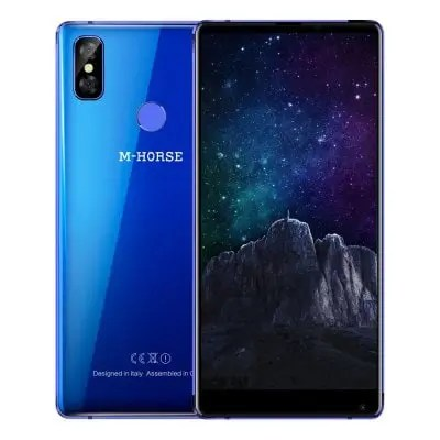 gearbest M-HORSE Pure 2 MTK6750T 1.5GHz 8コア BLUE(ブルー)