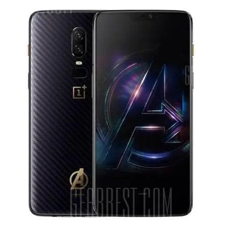 gearbest OnePlus 6 Snapdragon 845 SDM845 2.8GHz 8コア BLACK(ブラック)