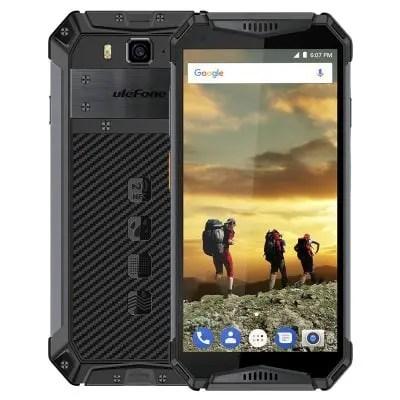 gearbest Ulefone Armor 3 MTK6763 Helio P23 2.0GHz 8コア BLACK(ブラック)
