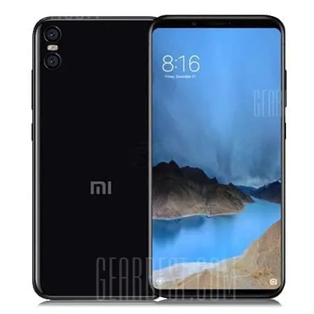 gearbest Xiaomi Mi 6X Snapdragon 660 MSM8956 Plus 2.2GHz 8コア BLACK(ブラック)