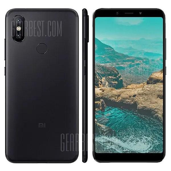 gearbest Xiaomi Mi A2 Lite Snapdragon 625 MSM8953 2.0GHz 8コア BLACK(ブラック)