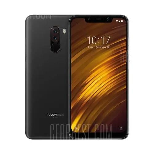 gearbest Xiaomi POCO F1 Snapdragon 845 SDM845 2.8GHz 8コア BLACK(ブラック)