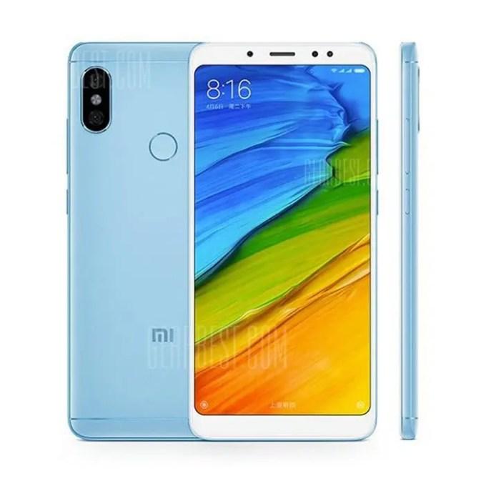 gearbest Xiaomi Redmi Note 5 Snapdragon 636 SDM636 8コア BLUE(ブルー)