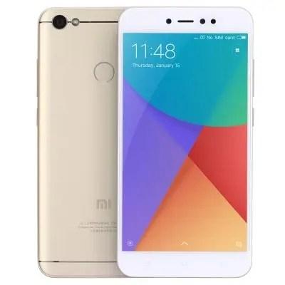 gearbest Xiaomi Redmi 5A Snapdragon 425 MSM8917 1.4GHz 4コア GOLDEN(ゴールデン)