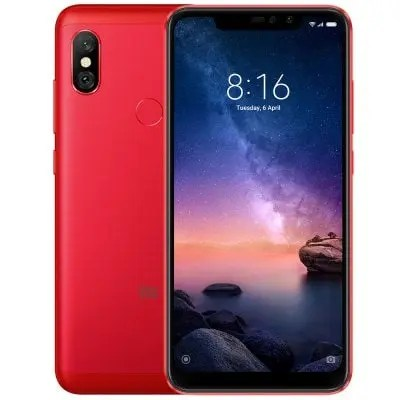 gearbest Xiaomi Redmi Note 6 Pro Snapdragon 636 SDM636 8コア RED(レッド)