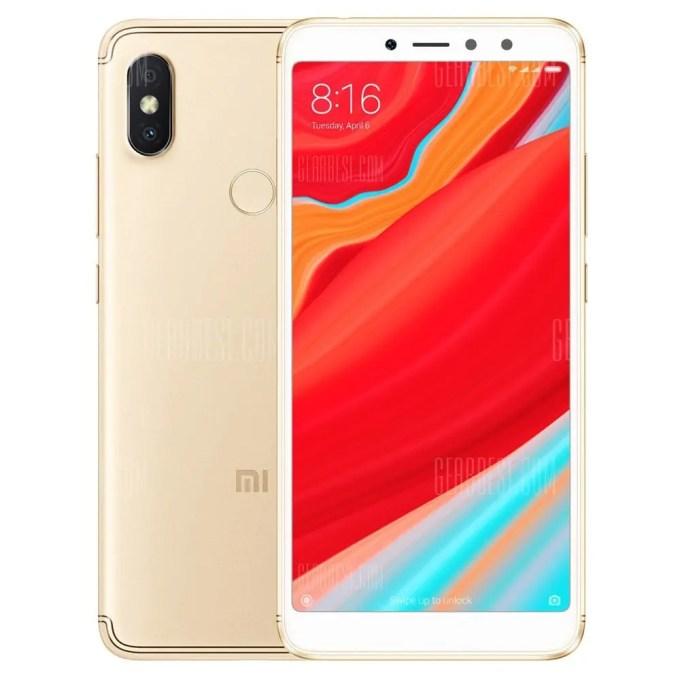 gearbest Xiaomi Redmi S2 Snapdragon 625 MSM8953 2.0GHz 8コア GOLD(ゴールド)