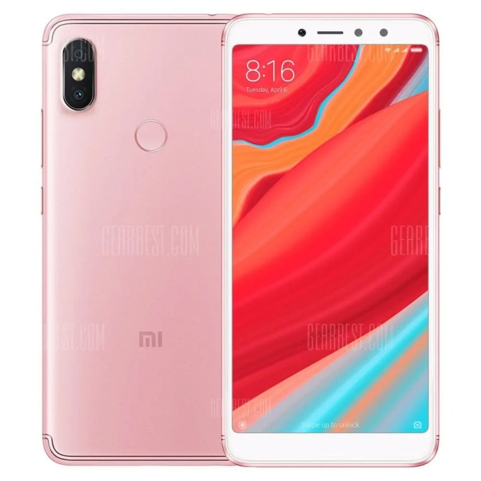 gearbest Xiaomi Redmi S2 Snapdragon 625 MSM8953 2.0GHz 8コア ROSE GOLD(ローズゴールド)