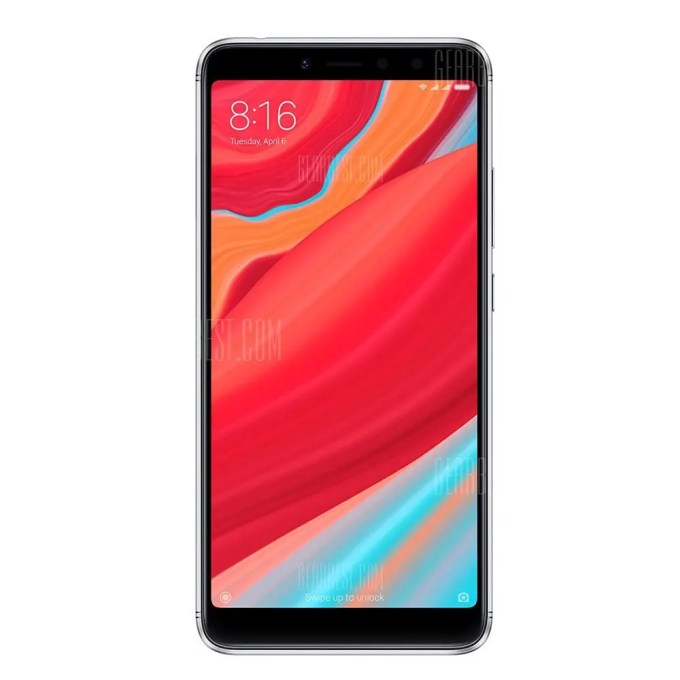 gearbest Xiaomi Redmi S2 Snapdragon 625 MSM8953 2.0GHz 8コア GREY(グレイ)