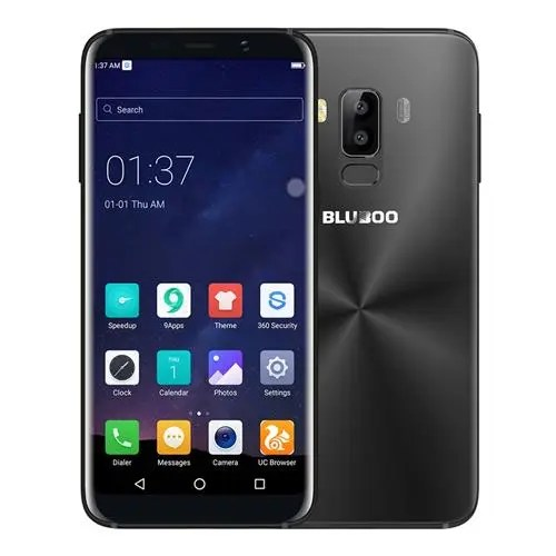 geekbuying Bluboo S8 MTK6750T 1.5GHz 8コア BLACK(ブラック)