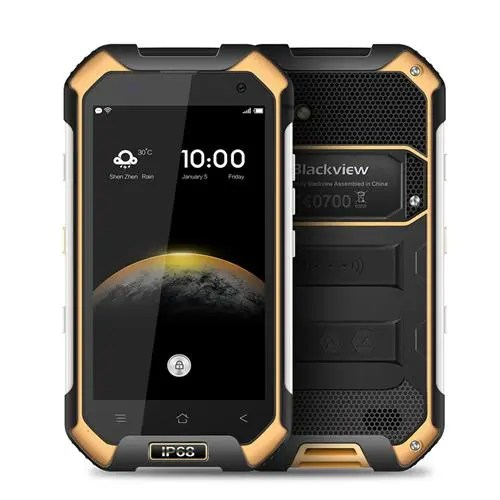 geekbuying Blackview  BV6000 MTK6755 Helio P10 2.0GHz 8コア Yellow(イエロー)