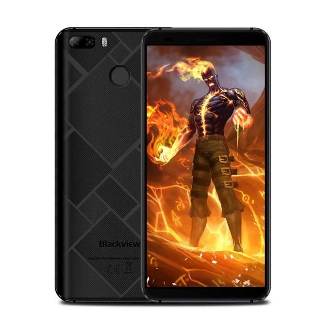 geekbuying Blackview S6 MTK6737 1.5GHz 4コア BLACK(ブラック)