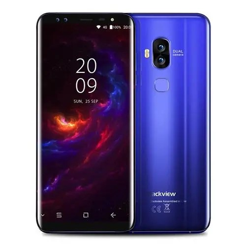 geekbuying Blackview S8 MTK6750T 1.5GHz 8コア BLUE(ブルー)