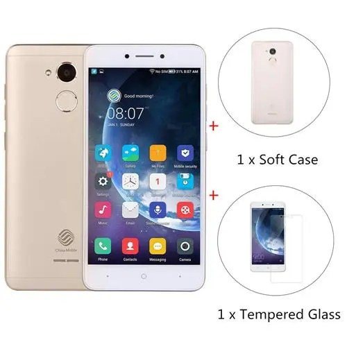 geekbuying China Mobile A3s Snapdragon 425 MSM8917 1.4GHz 4コア GOLD(ゴールド)