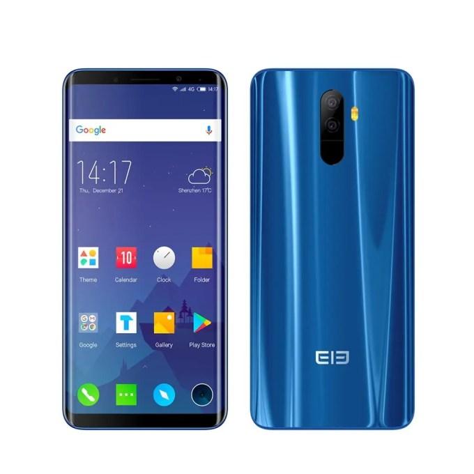 geekbuying Elephone U MTK6763T 2.0GHz 8コア BLUE(ブルー)