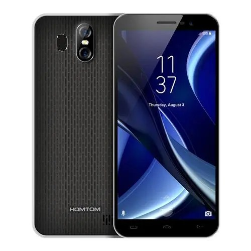 geekbuying homtom s16 3G MTK6580 1.3GHz 4コア BLACK(ブラック)