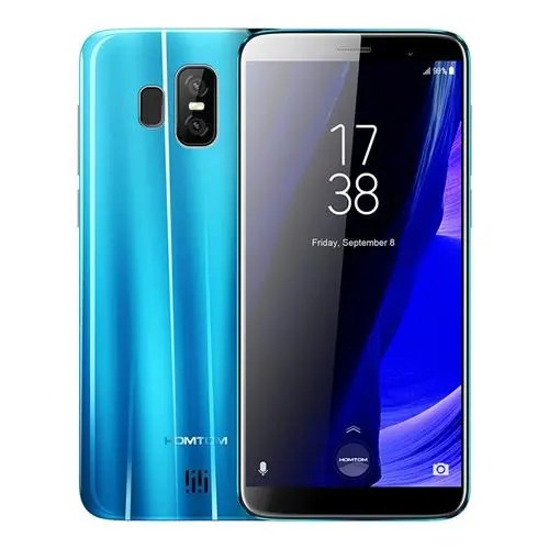 geekbuying HOMTOM S7 MTK6737 1.3GHz 4コア BLUE(ブルー)