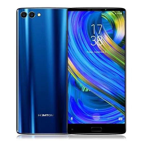 geekbuying HOMTOM S9 Plus MTK6750T 1.5GHz 8コア BLUE(ブルー)