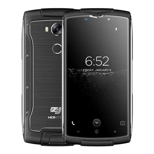 geekbuying HOMTOM ZOJI Z7 MTK6737 1.5GHz 4コア BLACK(ブラック)