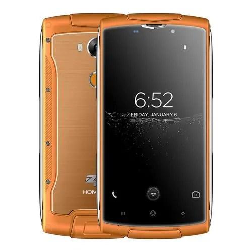 geekbuying HOMTOM ZOJI Z7 MTK6737 1.5GHz 4コア ORANGE(オレンジ)