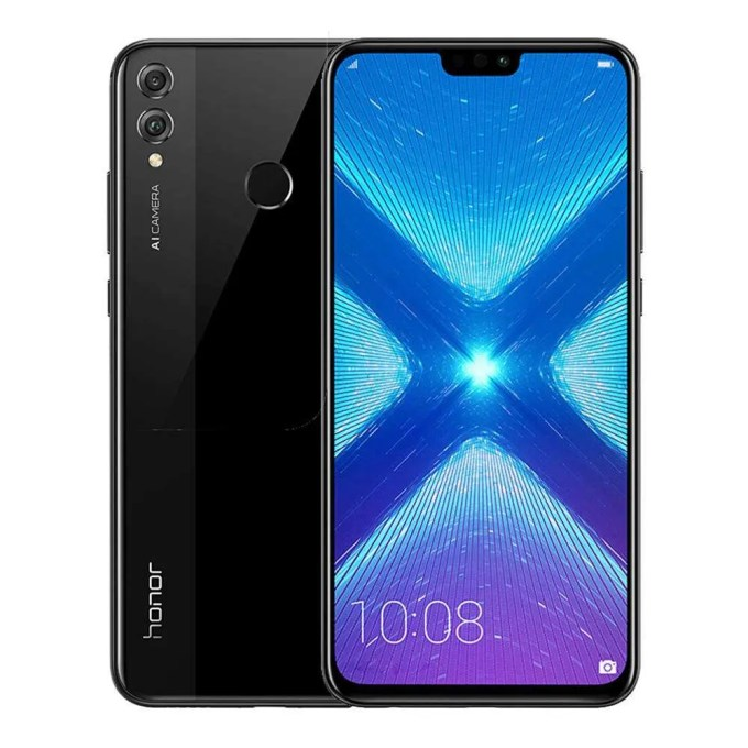 geekbuying Huawei Honor 8X Kirin 710 2.2GHz 8コア BLACK(ブラック)