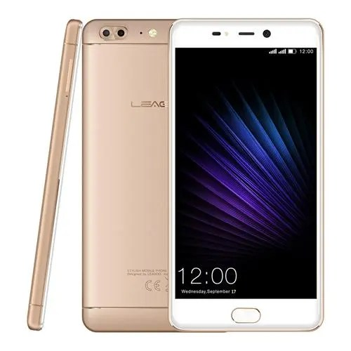 geekbuying Leagoo T5 MTK6750T 1.5GHz 8コア GOLD(ゴールド)