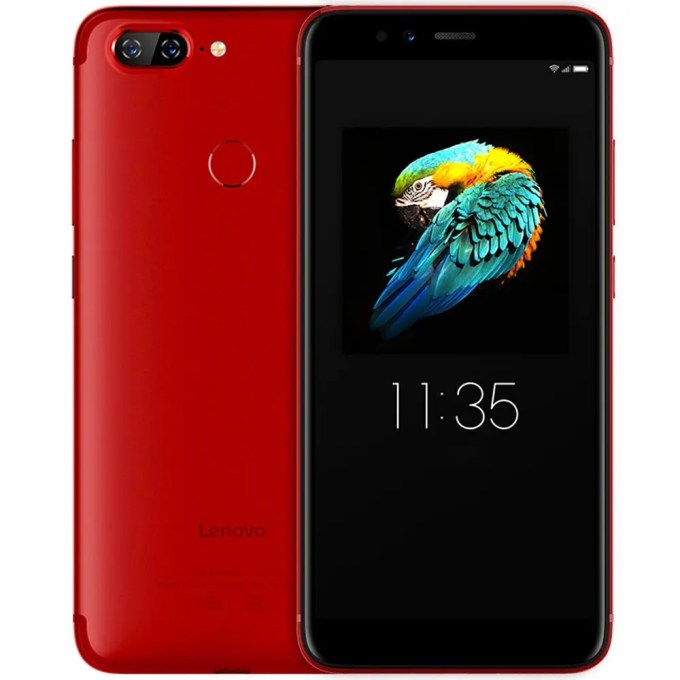 geekbuying Lenovo S5 Snapdragon 625 MSM8953 2.0GHz 8コア RED(レッド)