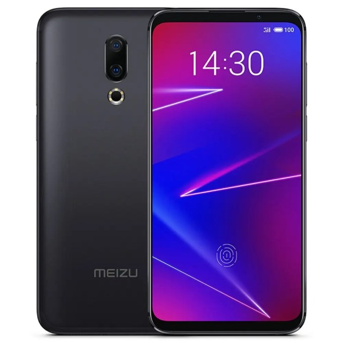 geekbuying Meizu 16X Snapdragon 710 2.2GHz 8コア BLACK(ブラック)