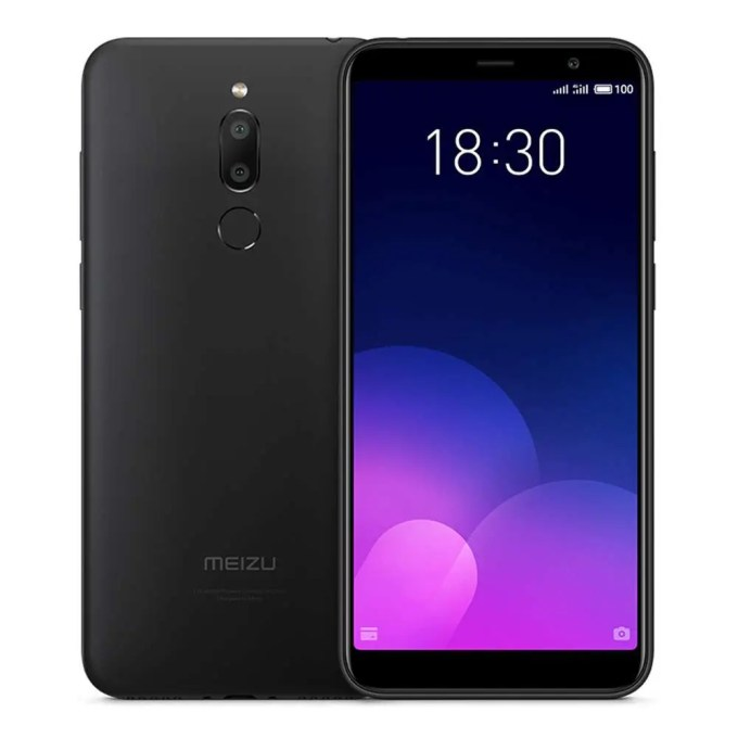 geekbuying Meizu 6T MTK6750 1.5GHz 8コア BLACK(ブラック)