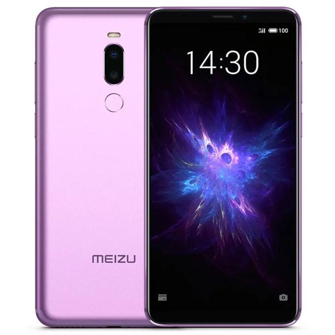 geekbuying Meizu Note 8 Snapdragon 632 SDM632 PURPLE(パープル)