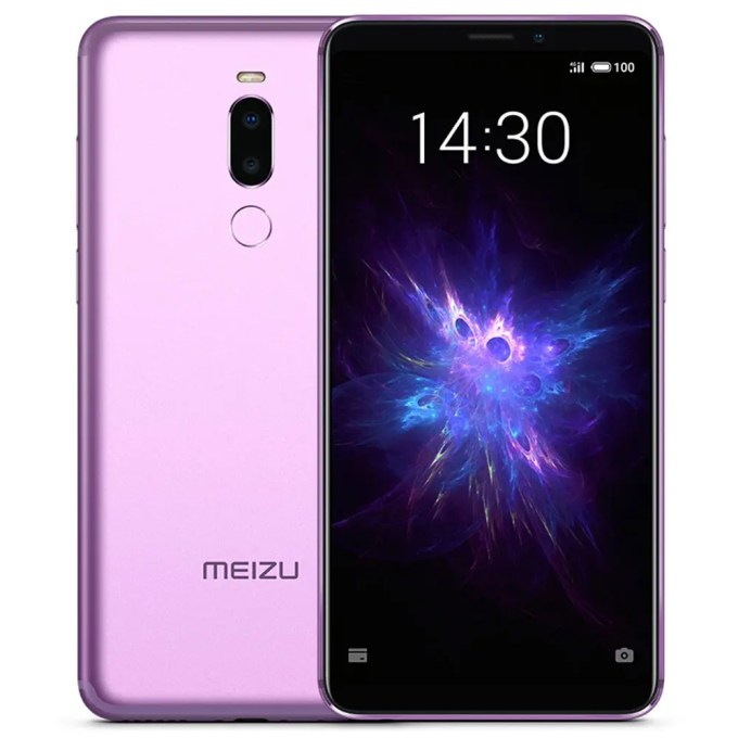 geekbuying Meizu Note 8 Snapdragon 632 SDM632 PURPLE(パープル)